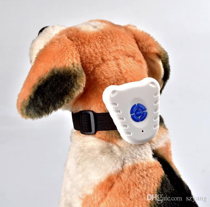 Wonderful Ultrasonic Anti Barking Pet Dog Training Collars Adjustable Dogs Training Stretch Collar Dog Bark Stop Control Collar