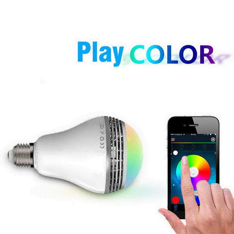 FW1S 2016 High Quality E27 MiP PLAYBULB X Wireless Bluetooth 4.0 Smart LED Control Light Bulb For IOS And Android Free Shipping