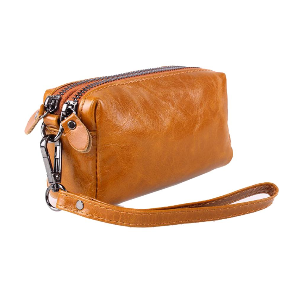 Female Travel Toiletry Bags Brands Genuine Leather Cosmetic Bag Womens Makeup Travel Purse Women Bag Phone Storage Organizer Bag