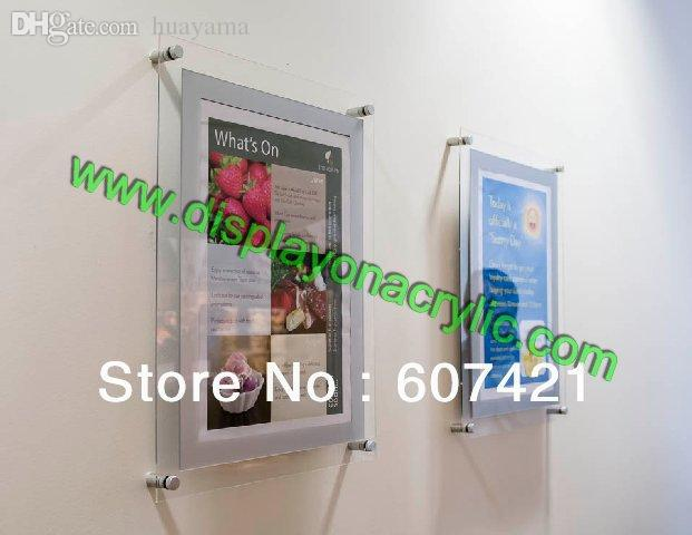 Acrylic Wall Frames best wholesale wall mounted 8.5x11 acrylic plexiglass floating