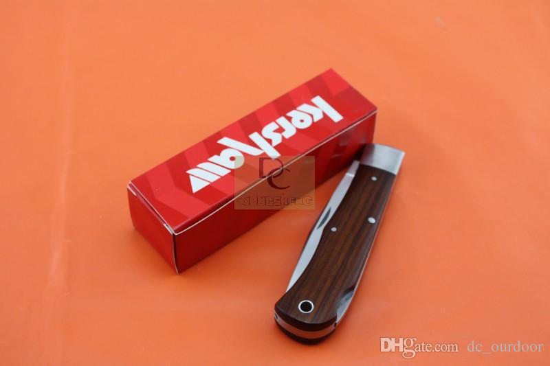 OEM Kershaw 3180 Utilitário faca Dobrável de Alta qualidade 9Cr13Mov Lâmina De Lâmina de Madeira Rosa Hanlde Camping Caça Faca Caixa Original
