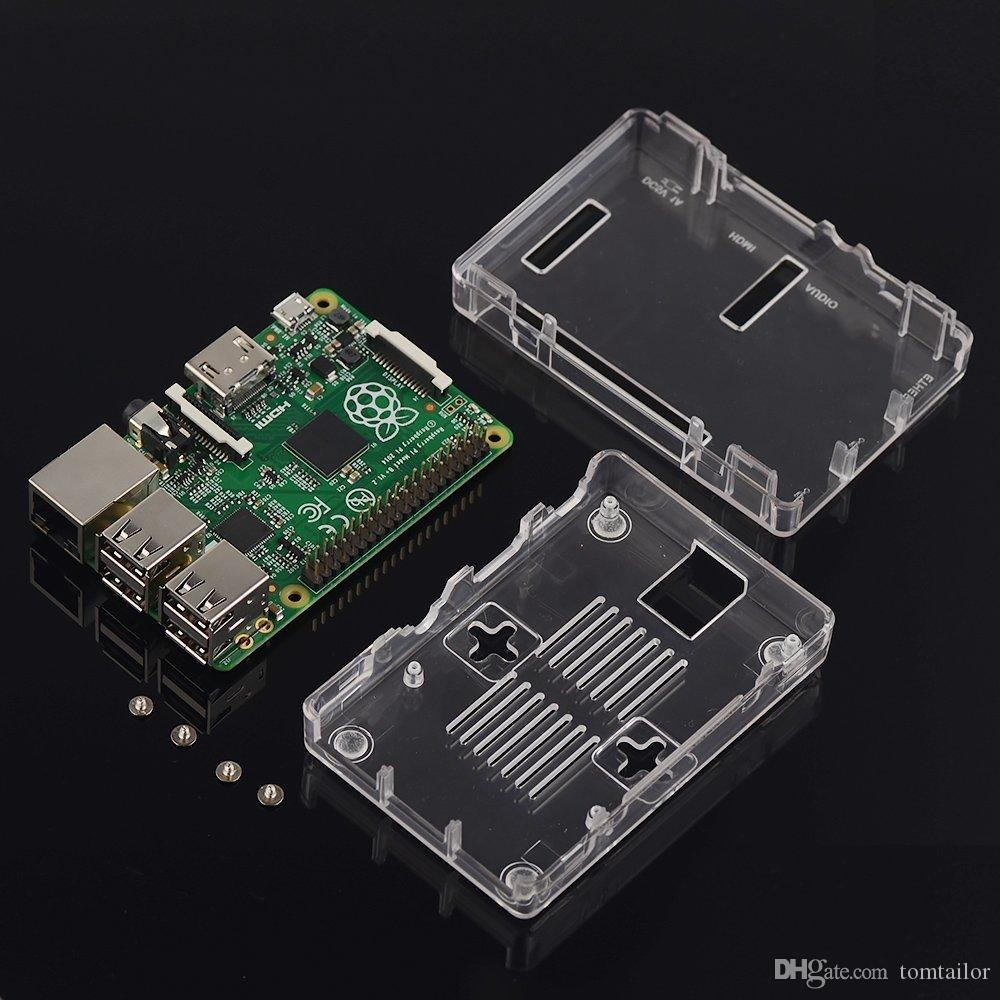 2016 New Durable Snap On Slim Portable Case Cover For Raspberry Pi 3 Circuit Model B 2