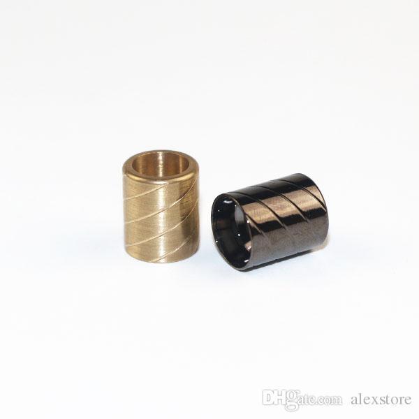 Nautilus X Drip Tip metal de acrílico especialmente Consejos goteo Sólo Fit Nautilus X Tanque de calibre ancho Boquilla E-cigarrillo Accesorios 2styles