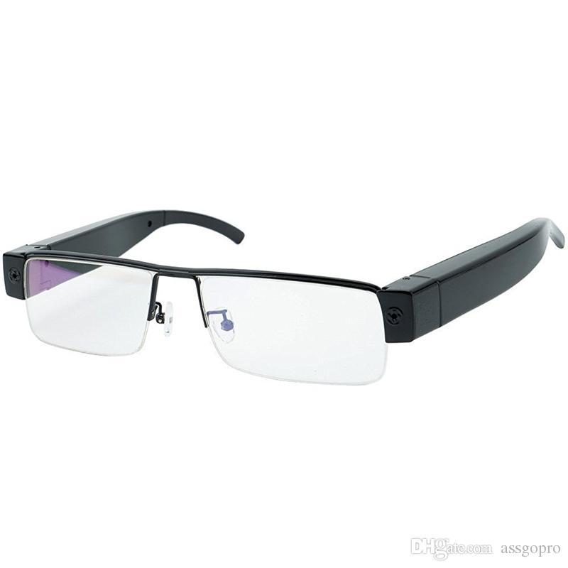 HD 1920x1080 P Super Óculos Mini Câmera de Segurança Óculos DVR Gravador de Vídeo Eyewear Cam Filmadora Portátil Suporte de Gravação de Áudio
