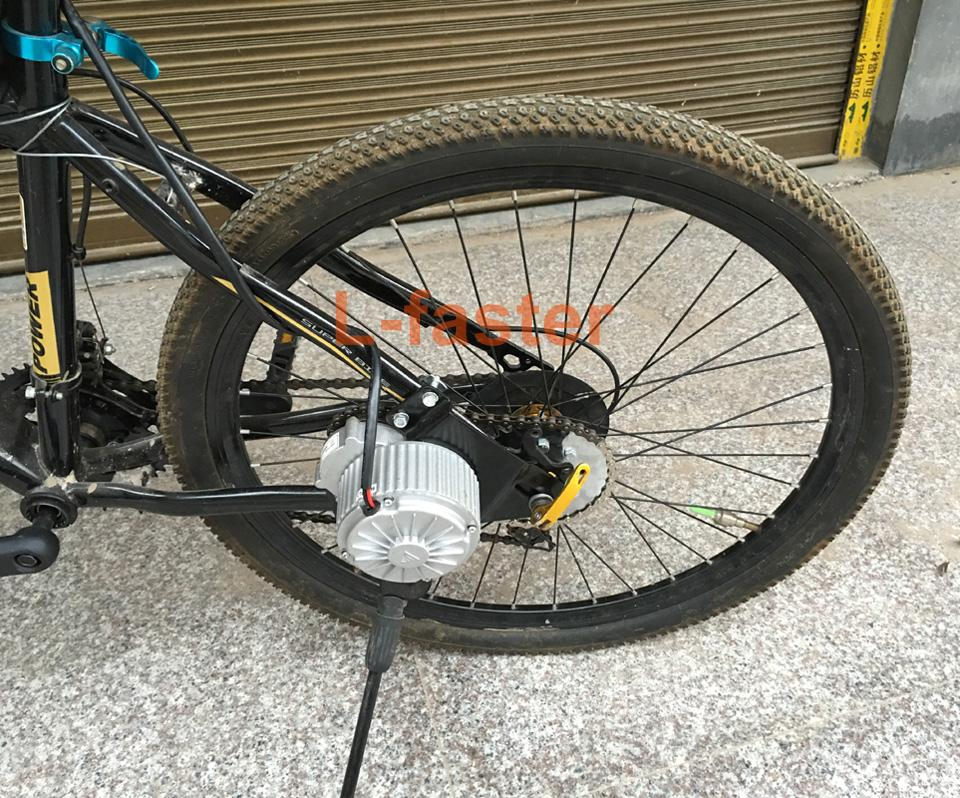 350W 새로운 도착 전기 기어드 자전거 모터 키트 전기 Derailleur 엔진 세트 가변 다중 속도 자전거 전기 키트