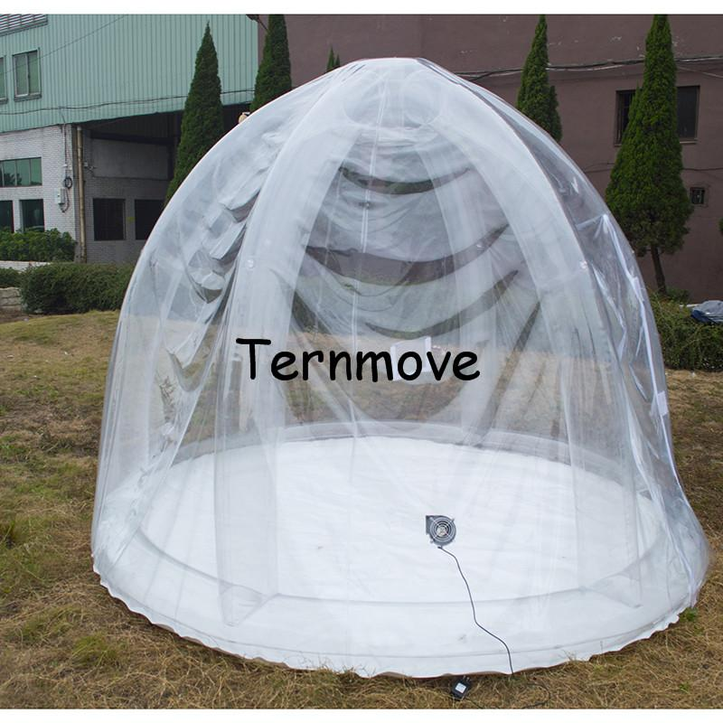pvc garden inflatable tent2