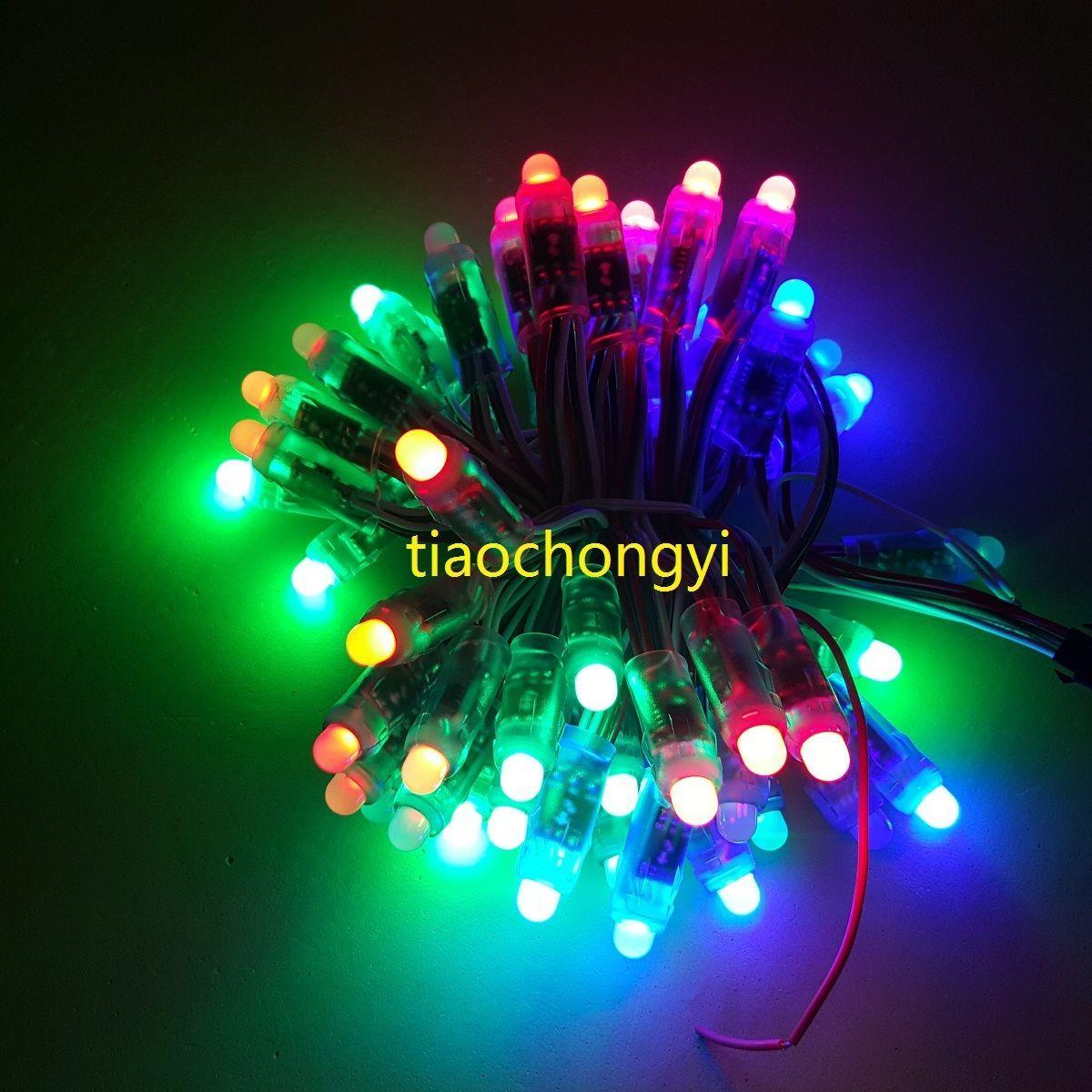 WS2811 RGB farbenreiche 12mm Pixel digital adressierbare LED Schnur DC 5V
