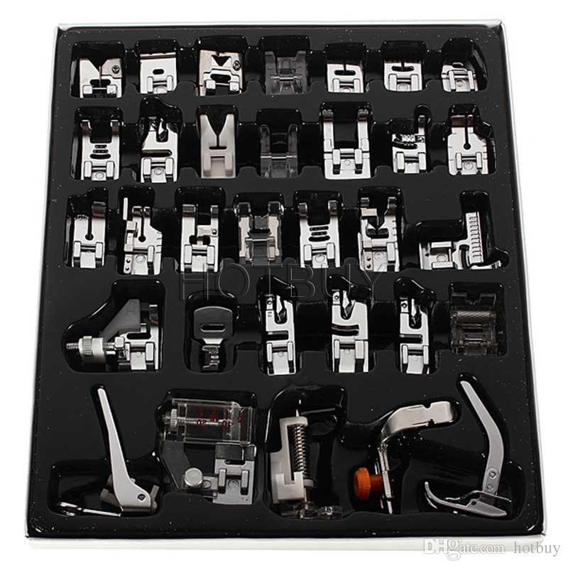 New Domestic Sewing Machine Presser Foot Feet Kit Set For Brother Singer Janome #4012