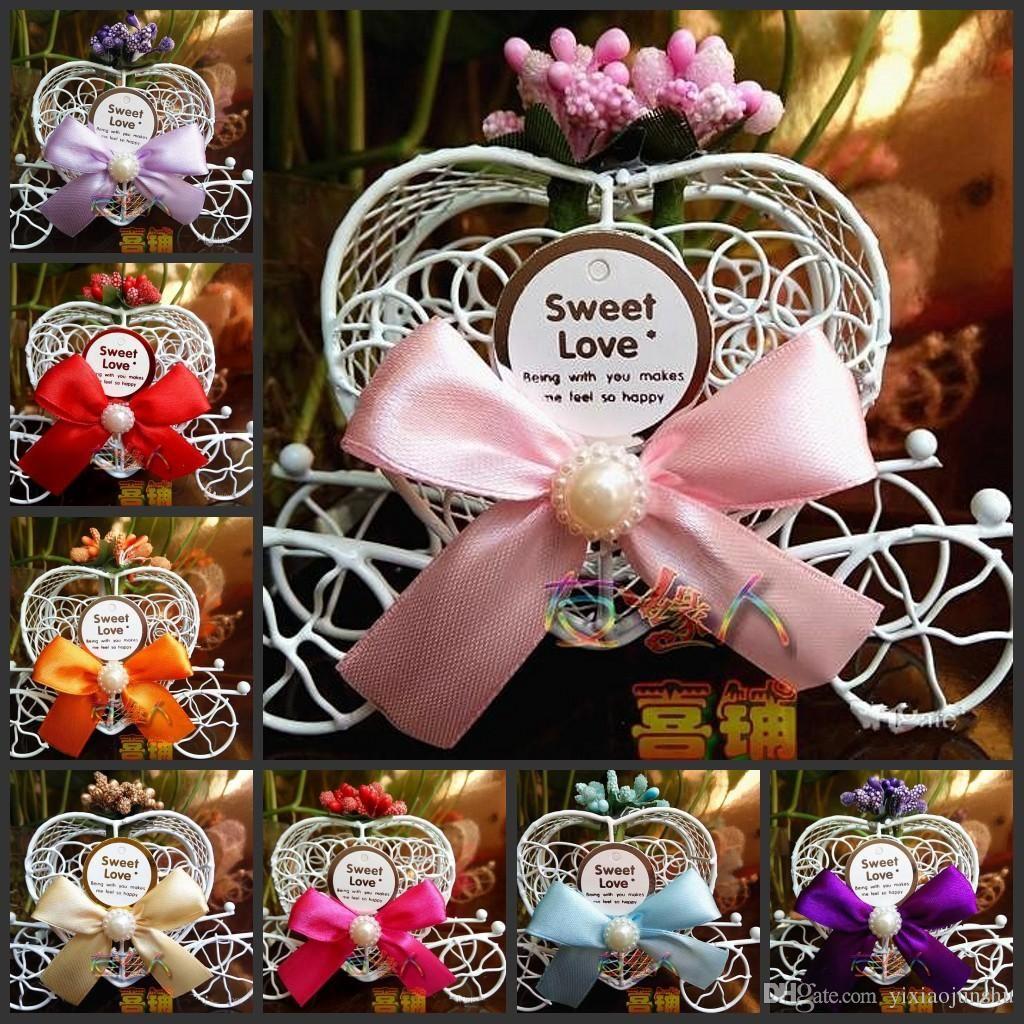 European Style Princess Wedding Decorations Dream Pumpkin Car Candy