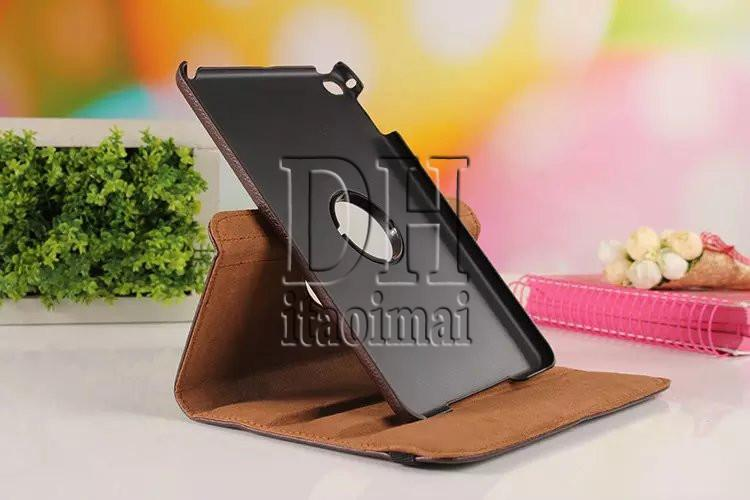 Degree Rotation Smart Stand PU Leather Tablet Case Cover For Apple ipad Pro Samsung Galaxy tab S2 E A T330 T350 T560 DHL