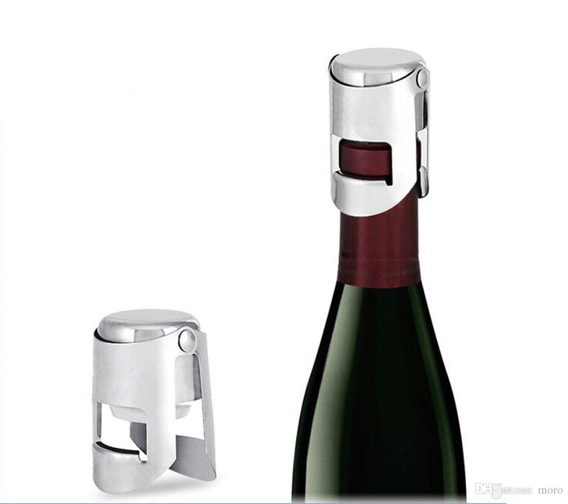 Champagne Bottle Stopper Vacuum Wine Stopper Sealed Bottle Favors ...