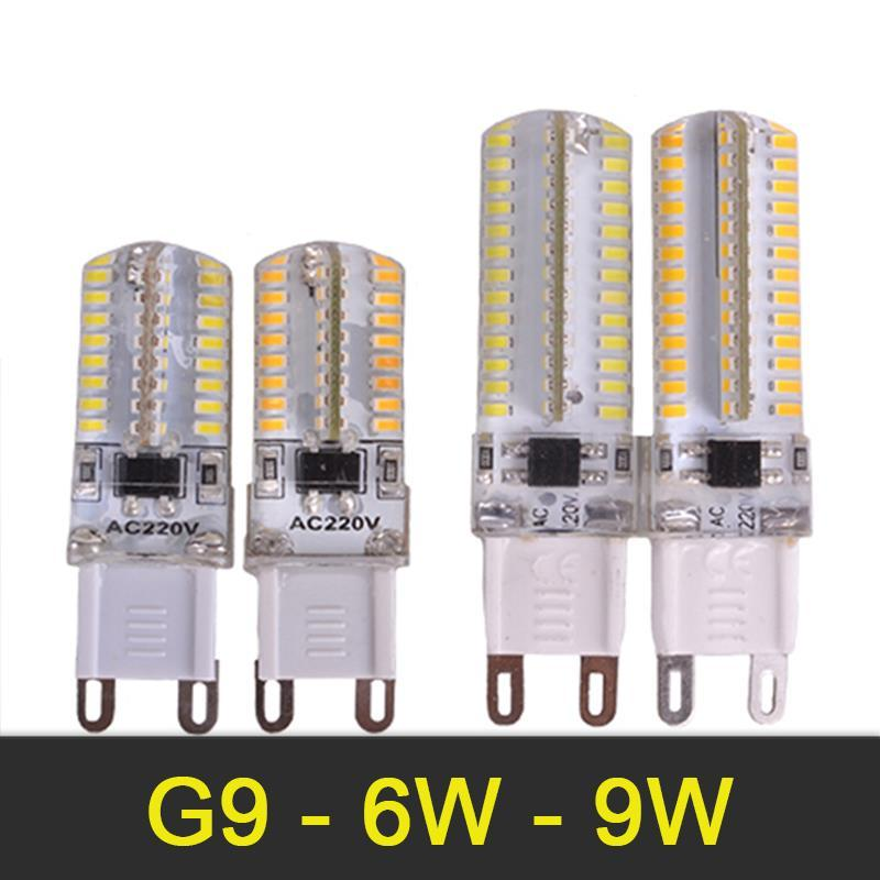 Mini G9 Led Lamp 6w 9w Mini Led Bulb Ac 220v Smd3014 Spotlight Chandelier High Quality Lighting Replace Halogen Lamps Matching In Colour Light Bulbs