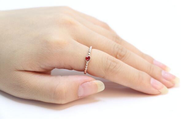 Moda 18 k chapado en oro plateado anillo de plata simple brillante anillos de hilo para las mujeres, regalos para mujeres al por mayor envío gratuito