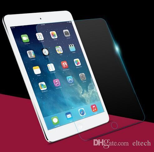 Pellicola proteggi schermo in vetro temprato rinforzato premium iPad min, Ipad 2 3 4, ipad air Samsung con confezione giift
