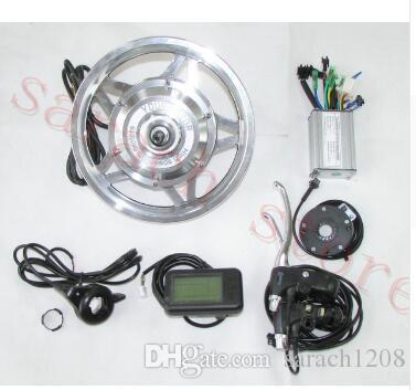 36V 250W front whole wheel motor, Electric bike motor ,brushless gear hub motor with LCD ,electric bicycle kit