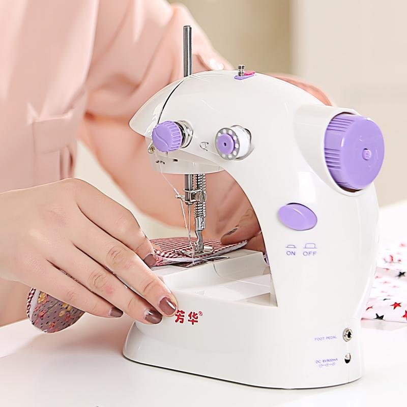 Discount Retail Electric Mini Sewing Machine Small Household Adorable Mini Sewing Machine