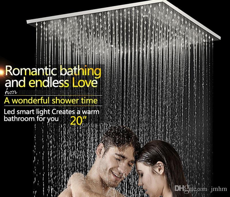 اكسسوارات الحمام الفاخرة المطر دش مجموعة مع 20