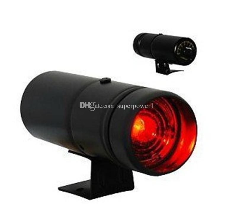 블랙 케이스 RED LED 램프 고품질 타코미터 RPM PRO-Shift 라이트 적색 조정 게이지 경고 시프트 라이트 / 자동 게이지