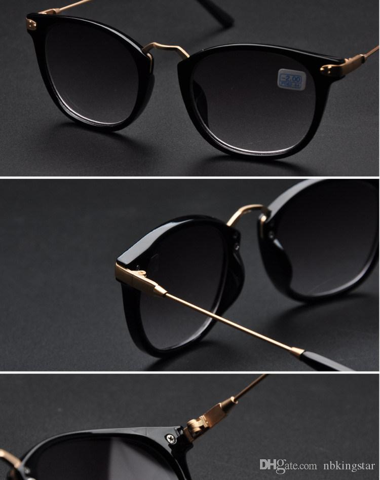 2016 블랙 근시 근시 일 유리 여성용 남성용 쉐이드 포인트 Shortsighted 선글라스 /