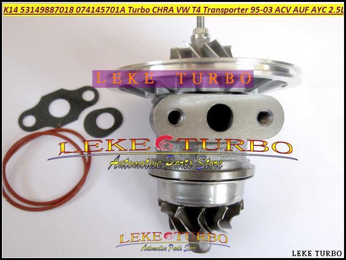K14 53149887018 53149707018 074145701A Turbocharger Cartridge CHRA Turbo For Volkswagen VW T4 Transporter 1995-03 ACV AUF AYC 2.5L TDI (1)