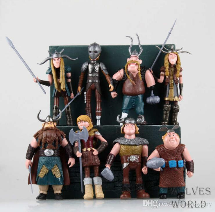 2019 10 13cm How To Train Your Dragon 2 Figurines PVC ...