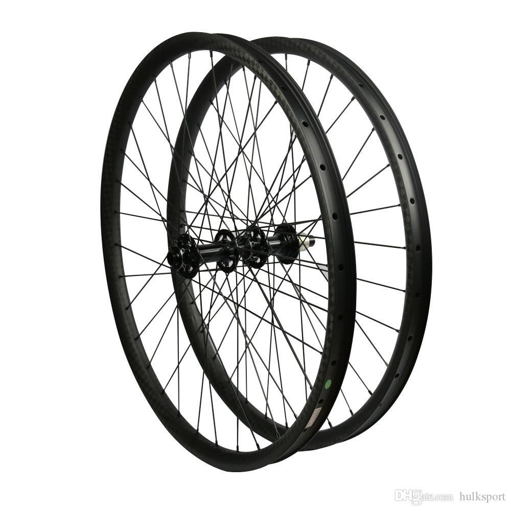 29ER 12 k matte black carbono mtb wheelset com powerway m82 impulsionar hub de carbono mountain bike parte montanha bicicleta roda conjunto