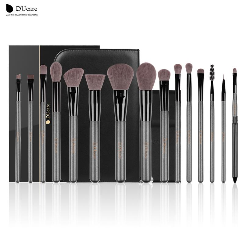 3d7cb26eb1 Ducare Makeup Brushes Sets Professional Brush Set With Portable Mirror High  Quality Cosmetic Make Up Brush Set With Bag Nail Art Brushes Blush Brush  From ...
