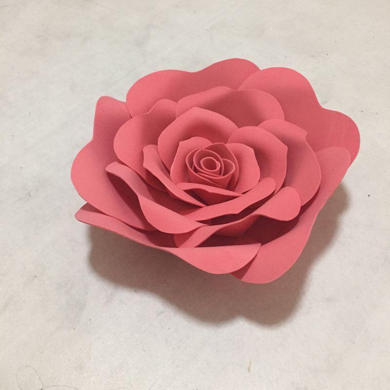 1 Stück 20 CM Riesen Papier Schaum Blumen Schaufenster Hochzeit Kulissen Requisiten Baby Room Decor flores artificiais para decora o