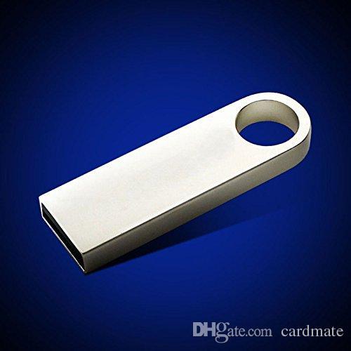 128 ГБ 256 ГБ 64 ГБ Ручка USB Флэш-накопитель Память USB 2.0 Металлическая Бар U Диск Мемориальная память ES-9