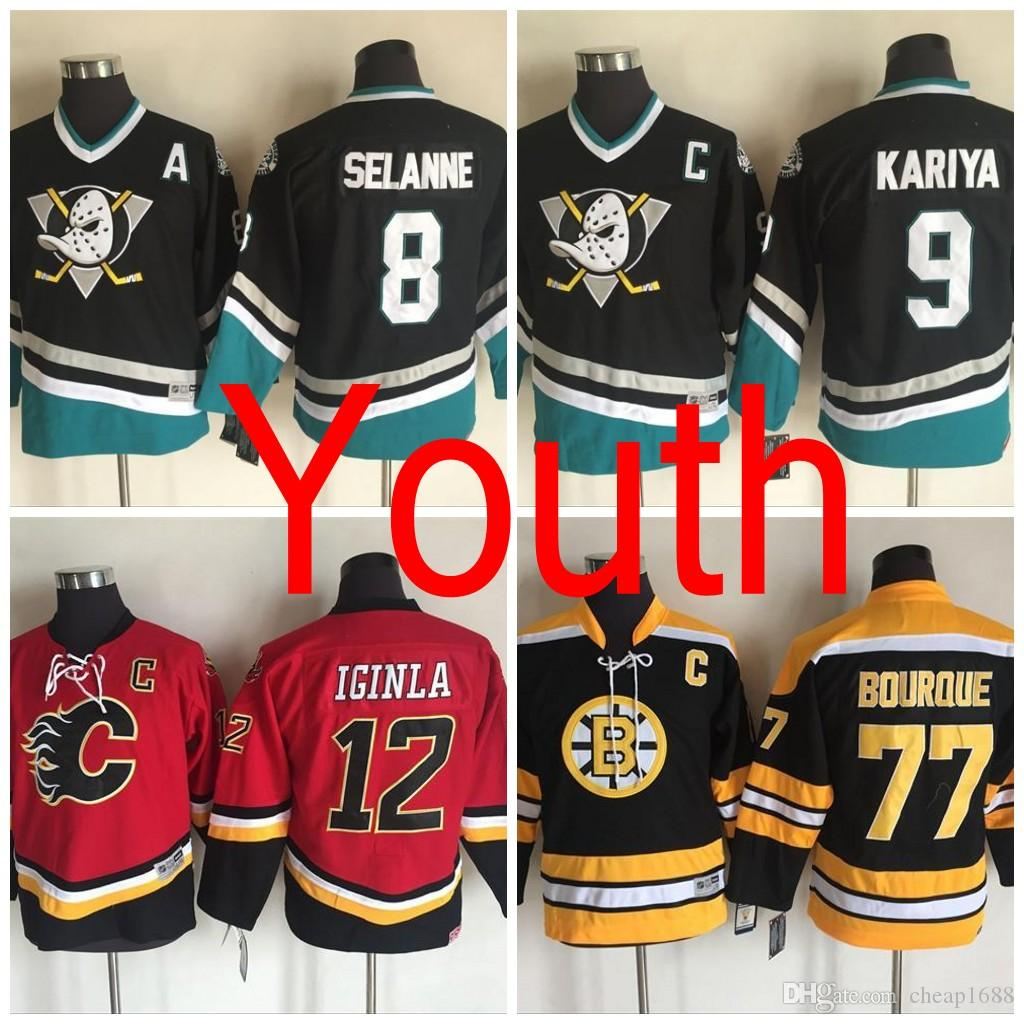 san francisco 038c1 8f5f5 anaheim ducks youth throwback jersey