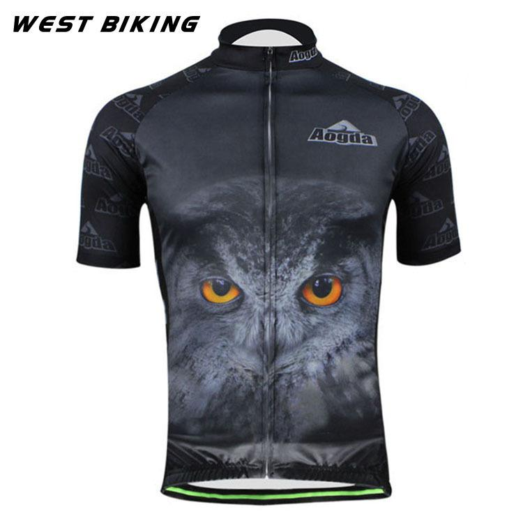 db1fe5be0 Owl Men S Raod Bicycle Short Sleeve Shirt Mtb Bicicleta Clothing Ropa  Ciclismo Maillot Sports Wear Mountain Bike Cycling Jersey Cool Cycling  Jerseys Cycle .
