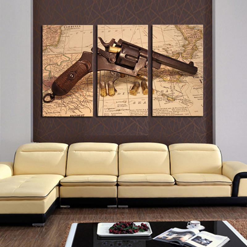 Amazing Gun Wall Decor Frieze - Art & Wall Decor - hecatalog.info
