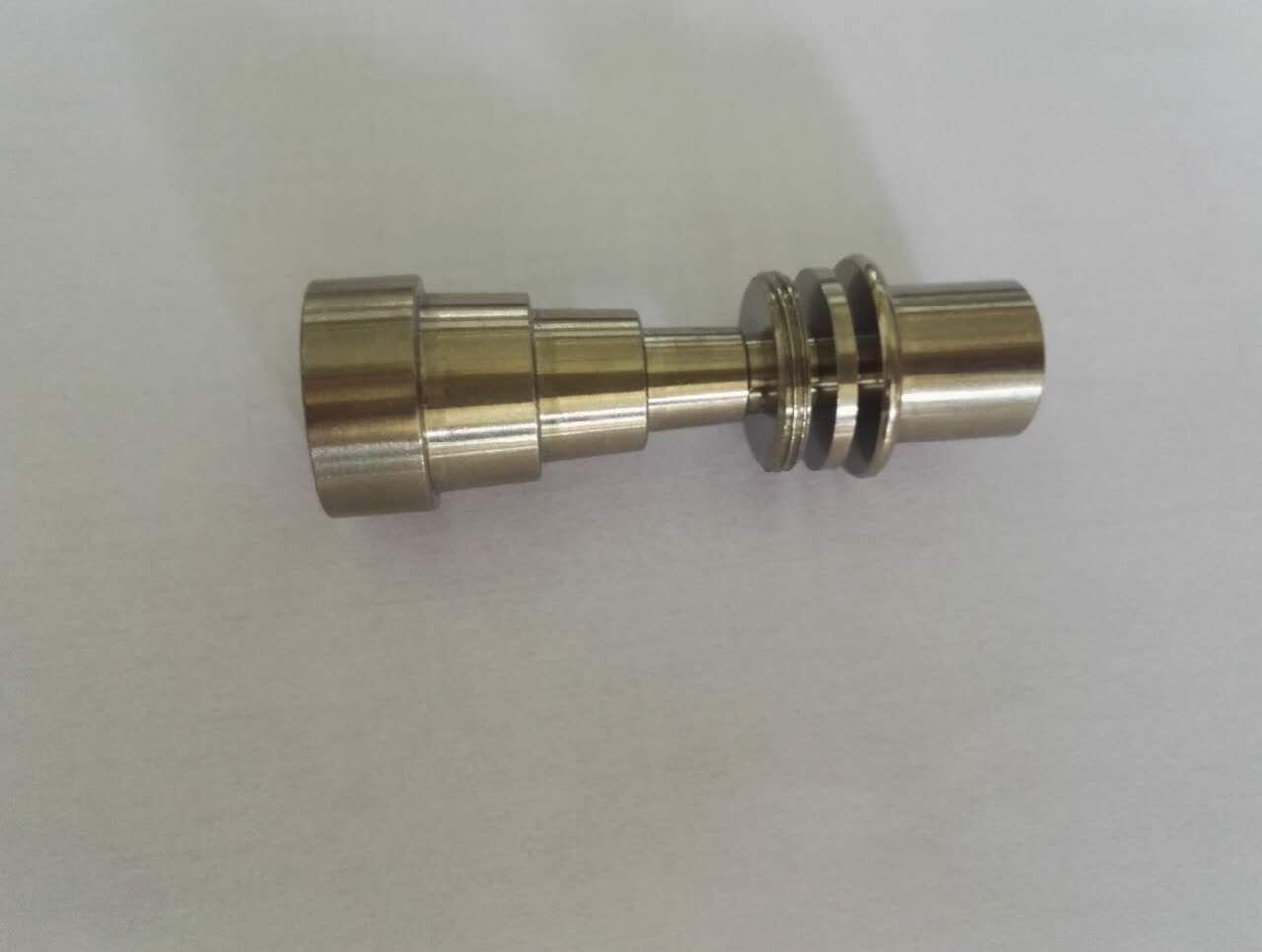 El clavo de titanio 16 mm sin hogar al por mayor de 16 mm se adapta a las articulaciones masculinas y femeninas y se adapta a todos los kits Majesty e / dnail