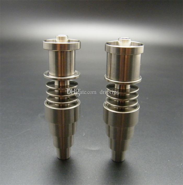 10 개 GR2 티타늄 네일 10mm 14mm 18mm 16mm 또는 20mm 인레 일 코일 무료 DHL 용 조절 가능한 도리스리스 수컷 암 관절