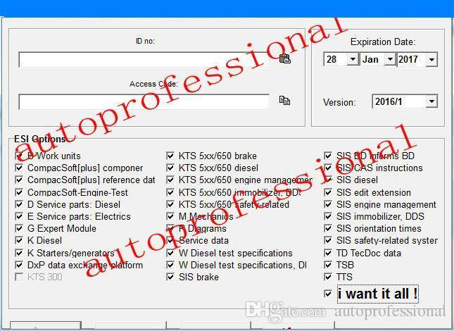 Bosch esi tronic key generator 2013 | User Profile  2020-03-22