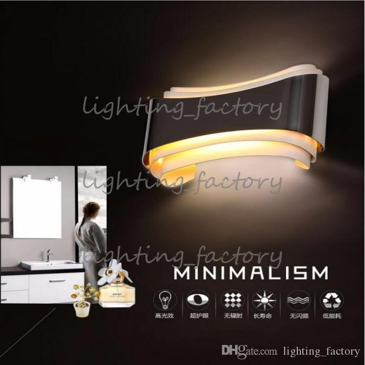 modern 5w led wall lights foyer bed dining living room lamp led bathroom lights bedside light indoor wall mounted lamps