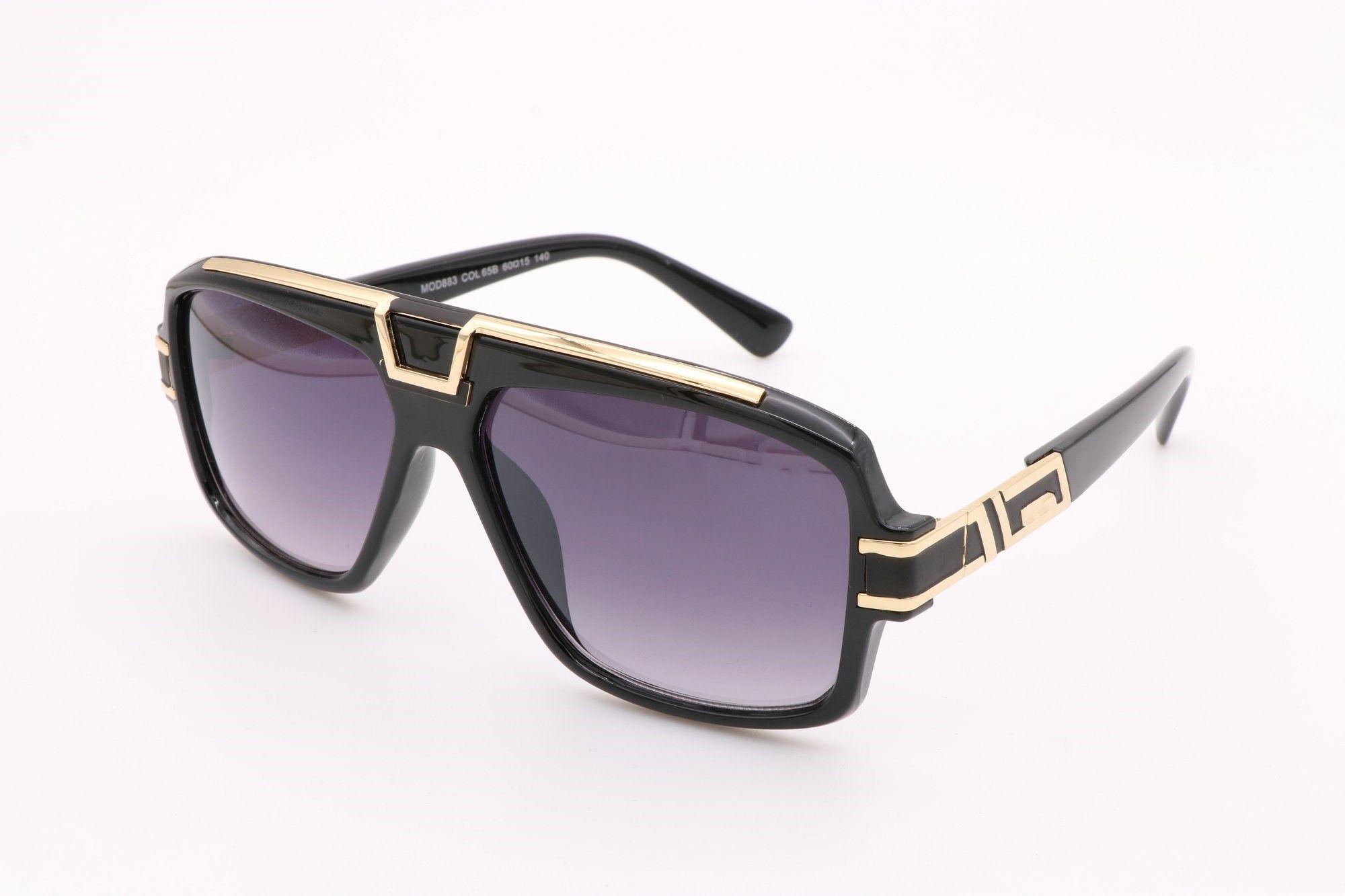 de67fa217fdc 883 Eyewear New Fashion Black Oversized Sunglasses Men Square Glasses For  Women Big Size Hip Hop Retro Sun Glasses Vintage Gafas Oculos John Lennon  ...