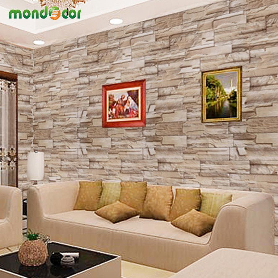 Genial 0.4mx 10m Home Decor Wall Decals Pvc Vinyl Brick Waterproof Wall Stickers  For Living Room Kitchen Self Adhesive Wallpaper Roll Wall Motifs Wall Mural  Decal ...