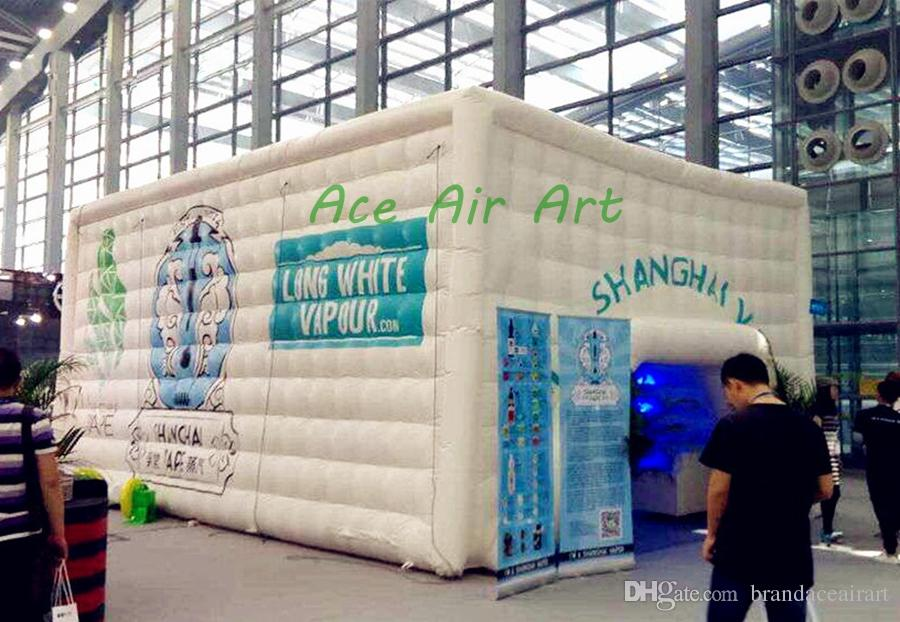 inflatable outdoor big garden inflatable cube marquee party Christmas wedding tent, inflatable outdoor party tent