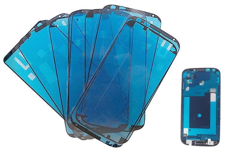 شاشات الكريستال السائل الشاشات التي تعمل باللمس إصلاح الإطار الحافة الشريط الغراء لسامسونج غالاكسي S3 S4 i9500 S5 مصغرة S6 حافة ملاحظة 2 Note3 Note4