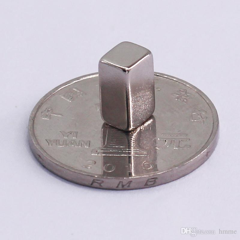 1 Pack N42 NdFeB Thin Block 10x6x5 +/-0.1mm about 0.22'' Magnet Bar Strong Neodymium Permanent Magnets Rare Earth Lifting Magnets