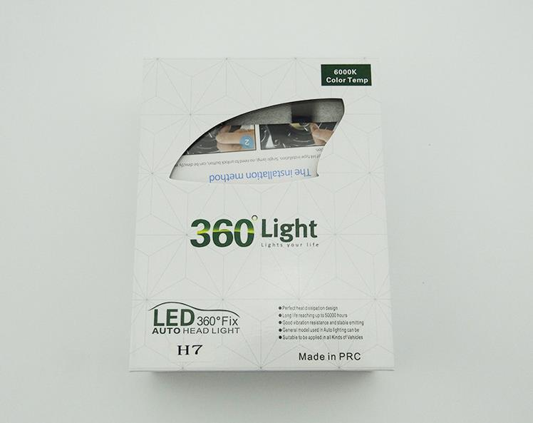 COB LED car light LED headlamps ultra bright auto LED headlight lamps H1 H3 H4 H7 H11 9005 9006 H13 880 881