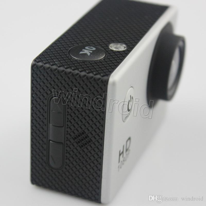 أرخص نسخة ل SJ4000 A9 نمط 2 بوصة شاشة lcd مصغرة كاميرا رياضية 1080 وعاء كامل hd عمل كاميرا 30 متر كاميرات الفيديو للماء خوذة الرياضة dv