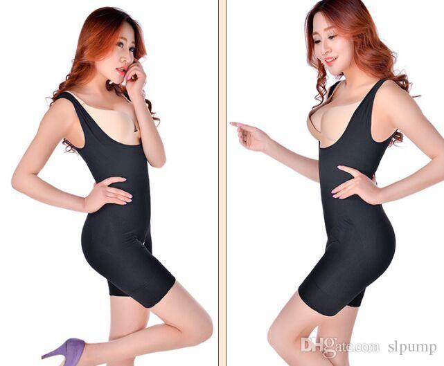 Donna Bamboo Dimagrante Underbust Shapewear Corsetto Shaper Body Suit Vita Tummy Shaper S-XXL