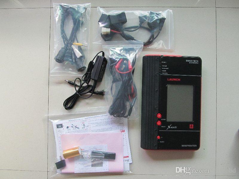 Lançamento X431 Mestre IV Profissional Universal Ferramenta de Diagnóstico Original Atualização Gratuita Pela Internet ferramenta de lançamento do scanner Frete Grátis