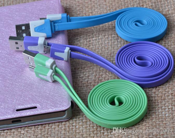 SAMSUNG GALAXY S5 S5 MİNİ G800F İÇİN UZUN / kısa NOODLE Micro USB şarj KABLOSU