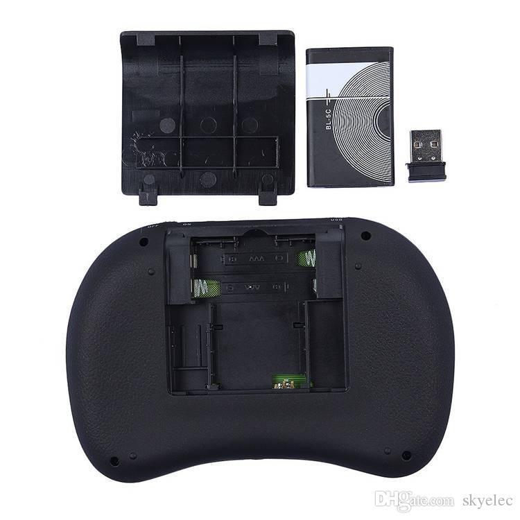 Rii I8 Wireless Backlight Mini Keyboard Air Mouse Multi Media Remote Touchpad Handheld MXQ Pro T95 M8S Plus S912 TV Box Unique Double Design