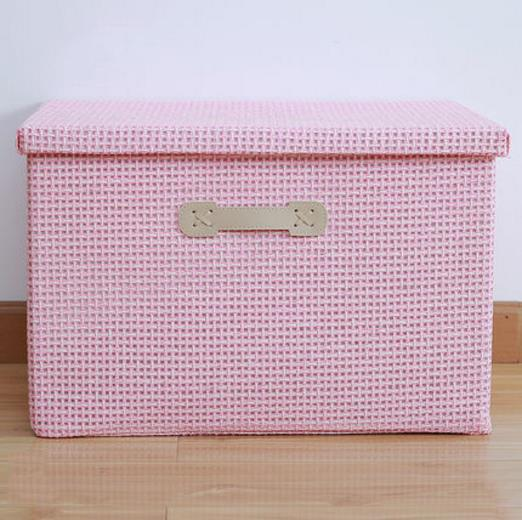 Clothes Blanket Large Storage Boxes Linen Cloth Create Extra Storage Space Foldable Storage Cubes Bin Box Containers