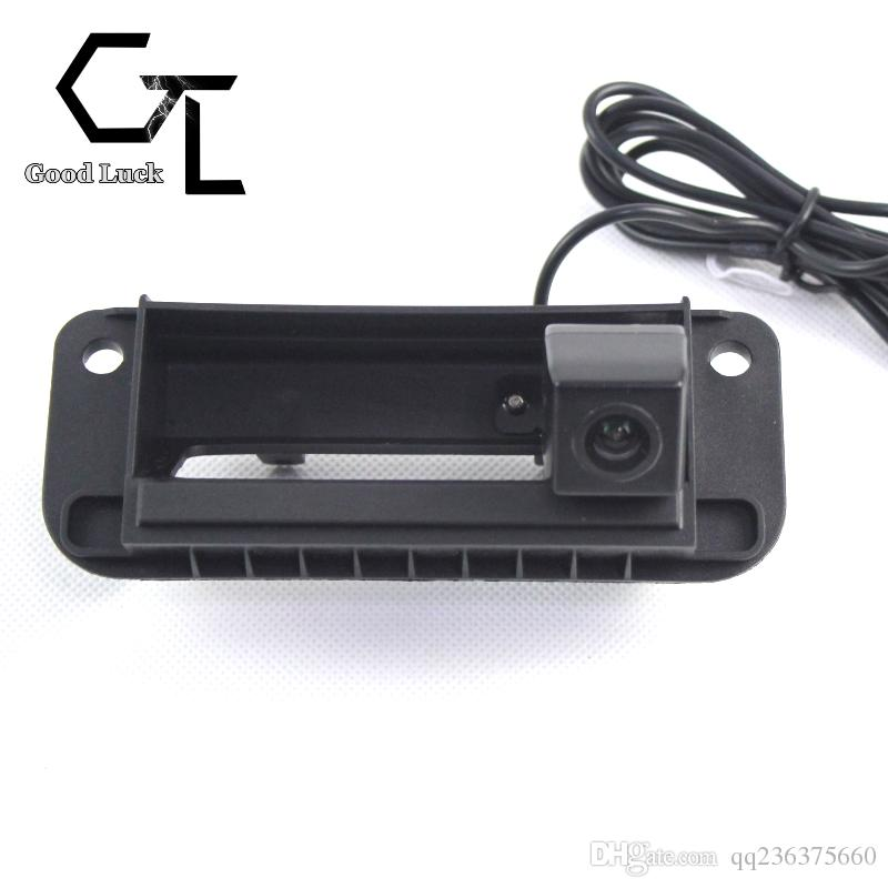 For Mercedes Benz C Class W204 C200 C180 C63 trunk handle Wireless Car Auto Reverse Backup CCD HD Rear View Camera