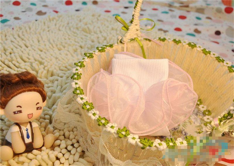 Enfants mignons Bébé Chaussettes Filles Coton Dentelle Volants en trois dimensions Chaussette Infant Toddler Enfants Chaussettes Cadeaux De Noël En Gros Chaude Nouveau